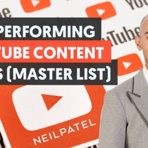 Top-Performing Content Types for YouTube (The MASTER LIST) - Module 1 - Lesson 3 - YouTube Unlocked