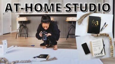 At-Home Product Photoshoot & Tips for PROFESSIONAL Product Photos