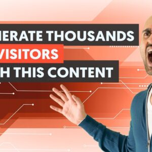 A Unique Type of Content That Will Generate You 100K's Visitors Per Month