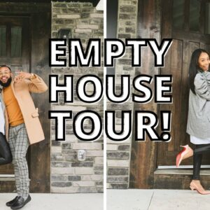 VLOG: Closing on our New Home & Empty House Tour!