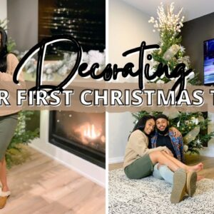 Christmas Decorating in our New House & Newlywed Update!