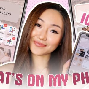 WHAT'S ON MY IPHONE | ** iOS14 AESTHETIC Customization ** (STEP BY STEP TUTORIAL!)