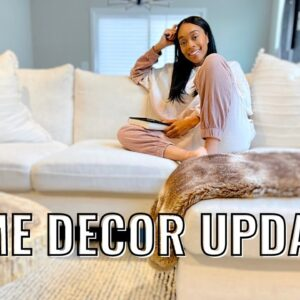 VLOG: New Home Decor Updates & Very Productive Work Day!