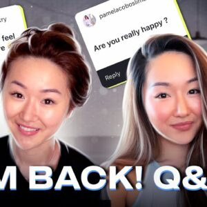 I'M BACK! Get Ready With Me + Q&A (Makeup Tutorial)