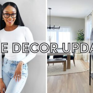 VLOG: Modern Home Decor Updates 😍 + Productive Work Day