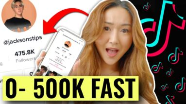 How to Grow on TikTok in 2021 (0 to 500,000 Followers FAST) ft. Jackson Zaccaria
