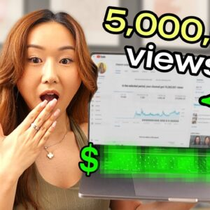 How Much Youtube PAID Me For a VIRAL Video (5 MILLION+ VIEWS!)