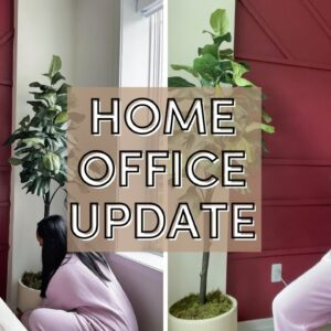 VLOG: Getting started on my MAJOR OFFICE MAKEOVER! | Home Decor Update