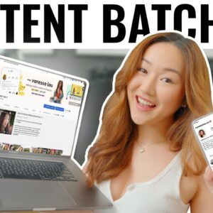 How I PLAN, CREATE, and SCHEDULE ALL Content for Instagram (so I can post DAILY without BURN OUT!)