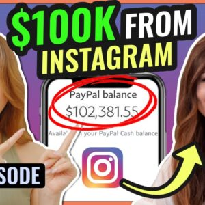 How to Make MONEY on Instagram (WITH LESS THAN 10K FOLLOWERS!)