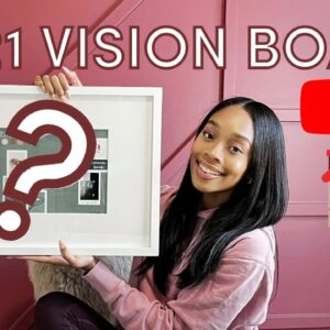 NOT YOUR AVERAGE VISION BOARD 2021 | My CRAZIEST goals ever 💰 |