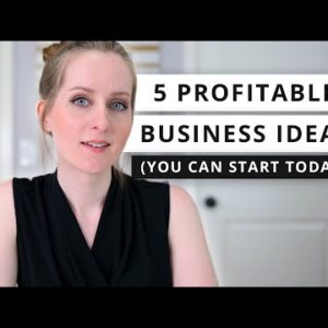 5 PROFITABLE ONLINE BUSINESSES YOU CAN START TODAY