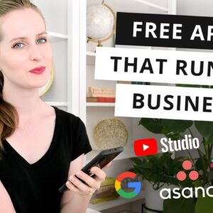 Free Apps that Run My Business (2021)