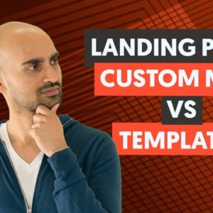 Should You Design Your Landing Pages From Scratch or Use Templates?